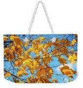Yellow Autumn Leaves 2 Weekender Tote Bag