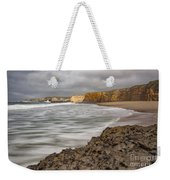 Yellow Bank Cliffs Weekender Tote Bag