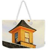 Yellow Barn Cupola Weekender Tote Bag