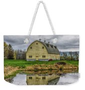 Yellow Barn Weekender Tote Bag