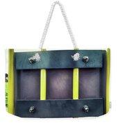 Yellow Bars Close Up  Weekender Tote Bag