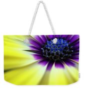 Yellow Beauty With A Hint Of Blue And Purple Weekender Tote Bag