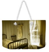 Yellow Bedroom Light Weekender Tote Bag