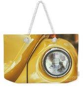 Yellow Beetle Weekender Tote Bag