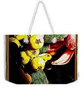 Yellow Berries Weekender Tote Bag