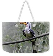 Yellow Billed Hornbill Weekender Tote Bag