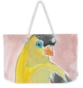 Yellow Bird 56 Weekender Tote Bag