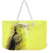 Yellow Bird Weekender Tote Bag