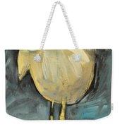 Yellow Bird In Field Weekender Tote Bag