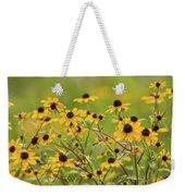 Yellow Black Eyed Susan Wildflowers In Summer Weekender Tote Bag