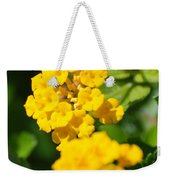 Yellow Blooms Weekender Tote Bag