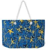 Yellow Blue Weekender Tote Bag