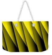 Yellow Borders Weekender Tote Bag