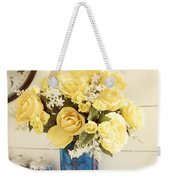 Yellow Bouquet Of Flowers Weekender Tote Bag
