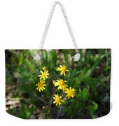 Yellow Bouquet On The Trail Weekender Tote Bag