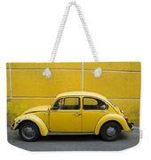 Yellow Bug Weekender Tote Bag