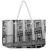 Yellow Cab By The Museum Of Natural History, New York Weekender Tote Bag