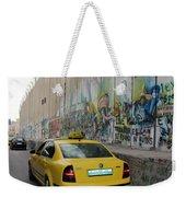 Yellow Cab Weekender Tote Bag
