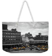 Yellow Cabs In Chelsea, New York 2 Weekender Tote Bag