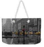 Yellow Cabs New York Weekender Tote Bag
