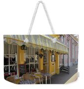Yellow Cafe Weekender Tote Bag
