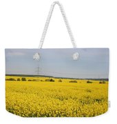 Yellow Canola Field Weekender Tote Bag