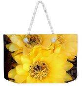 Yellow Cereus Weekender Tote Bag