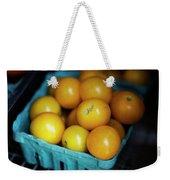 Yellow Cherry Tomatoes Weekender Tote Bag