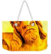 Yellow Christ #1 Weekender Tote Bag