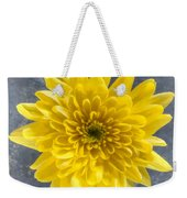 Yellow Chrysanthemum Flower Weekender Tote Bag