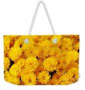Yellow Chrysanthemums Weekender Tote Bag