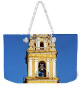 Yellow Church And Blue Sky Weekender Tote Bag