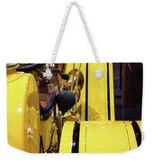 Yellow Classic Weekender Tote Bag