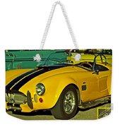 Yellow Cobra Weekender Tote Bag