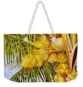 Yellow Coconuts- 01 Weekender Tote Bag