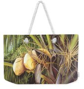 Yellow Coconuts From The Tropics  Weekender Tote Bag