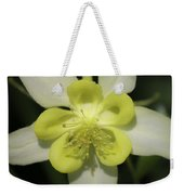 Yellow Columbine Squared 2 Weekender Tote Bag