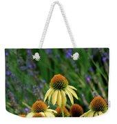 Yellow Coneflowers And Lavender 1633 H_2 Weekender Tote Bag