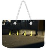 Yellow Cones Weekender Tote Bag