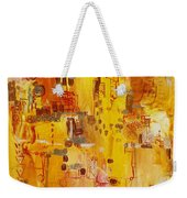 Yellow Conundrum Weekender Tote Bag