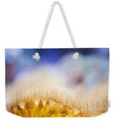 Yellow Coral Reef Macro Weekender Tote Bag