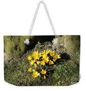 Yellow Crocus 1 Weekender Tote Bag
