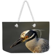 Yellow Crowned Night Heron Weekender Tote Bag