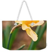 Yellow Daffodil Weekender Tote Bag