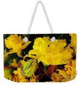 Yellow Daffodils 6 Weekender Tote Bag