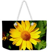 Yellow Daisey Weekender Tote Bag