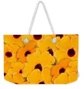 Yellow Daisy Flowers Weekender Tote Bag