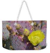 Yellow Desert Bloom Weekender Tote Bag