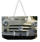 Yellow Dodge Weekender Tote Bag