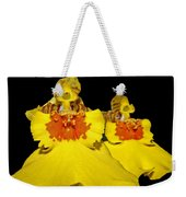 Yellow Dresses Weekender Tote Bag